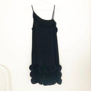 BR Runway Collection Silk Petal Sleeveless Dress
